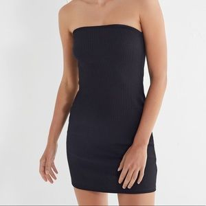 Urban Outfitters // Heather Ribbed Knit Tube Dress